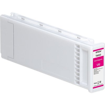 Epson T800300 UltraChrome PRO Vivid Magenta Ink Cartridge (700 ml)