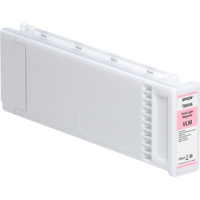 Epson T800600 UltraChrome PRO Vivid Light Magenta Ink Cartridge (700 ml)