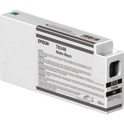Epson T834800 UltraChrome HD Matte Black Ink Cartridge (150 ml)