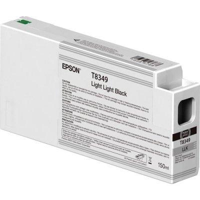 Epson T834900 UltraChrome HD Light Light Black Ink Cartridge (150 ml)