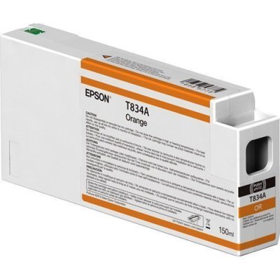 Epson T834A00 UltraChrome HD Orange Ink Cartridge (150 ml)