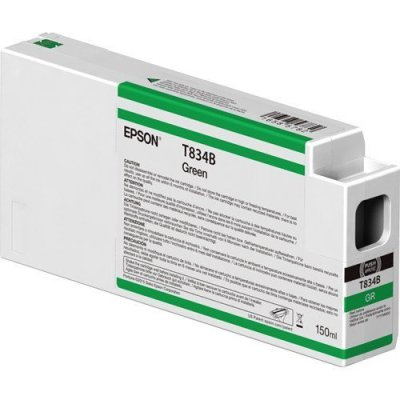 Epson T834B00 UltraChrome HD Green Ink Cartridge (150 ml)