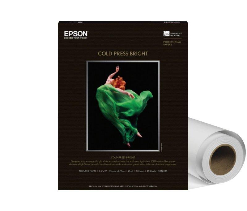 Epson Cold Press Bright Paper (44x50', 1 Roll) S042315