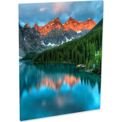 ChromaLuxe EXT White Metal Photo Panel (Exterior)