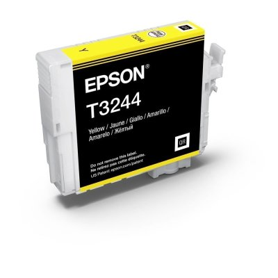 Epson T324420 UltraChrome HG2 Yellow Ink Cartridge (14 ml)