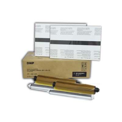 """DNP DS80DX 8x12"""" Duplex Printer Media Kit (2 Rolls, 110 Prints)"""