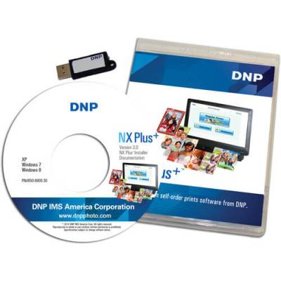 DNP NX Plus+ Software Version 3.0 Dongle (CD/DVD)
