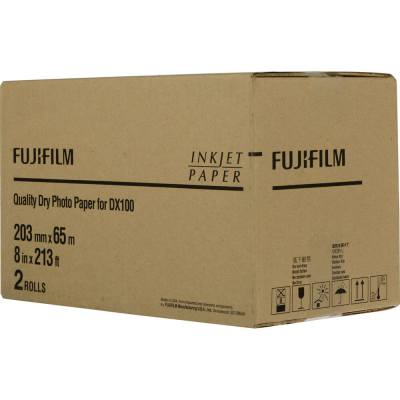 "Fujifilm Frontier-S DX100 8""x213' Quality Dry Photo Paper (2 Rolls, Lustre)"