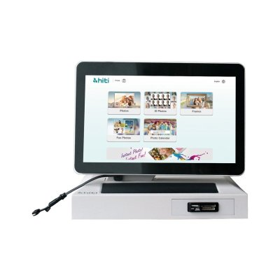 HiTi MARS12 HD Multi-Touch Mini Kiosk for P525L Printer