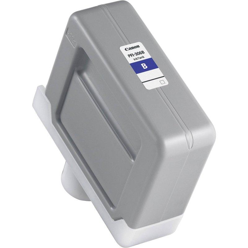 Canon PFI-306B Blue Ink Cartridge (330 ml) for iPF8300, iPF8300S, iPF8400, iPF8400S, iPF8400SE, iPF9400, iPF9400S Printers