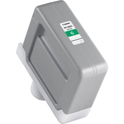 Canon PFI-306G Green Ink Cartridge (330 ml) for iPF8300, iPF8300S, iPF8400, iPF8400S, iPF8400SE, iPF9400, iPF9400S Printers