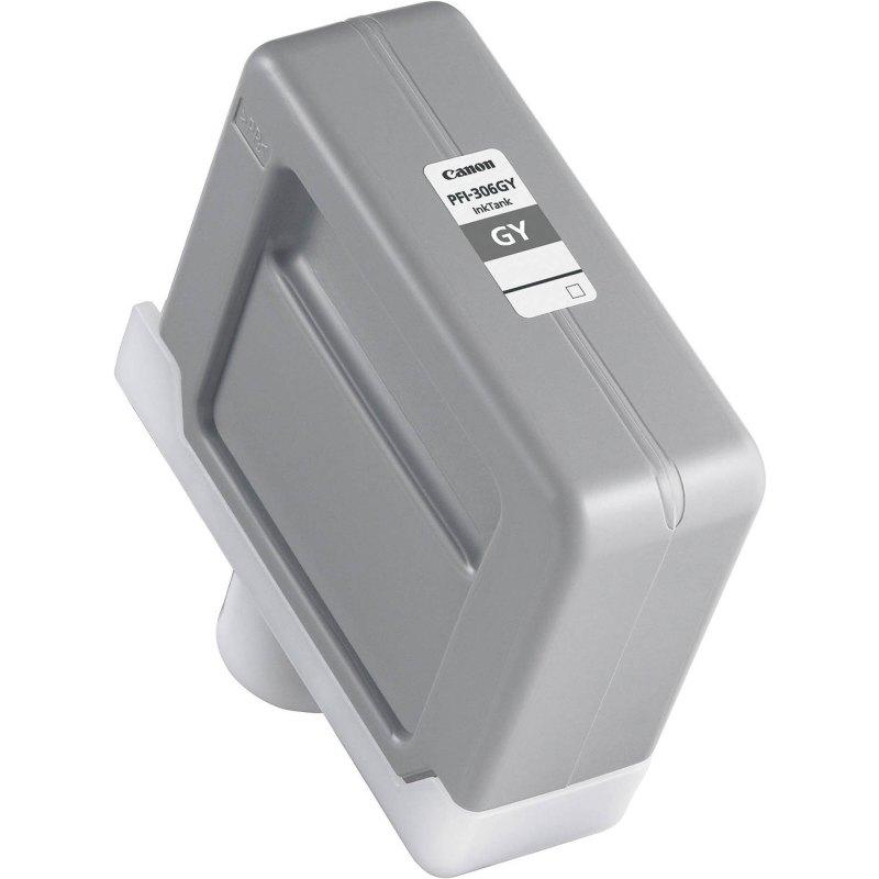 Canon PFI-306GY Gray Ink Cartridge (330 ml) for iPF8300, iPF8300S, iPF8400, iPF8400S, iPF8400SE, iPF9400, iPF9400S Printers
