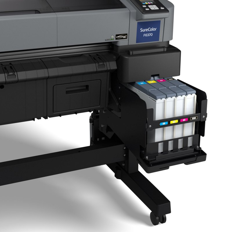 Epson SureColor F6370 44″ Dye-Sublimation Production Edition Printer (Includes Auto Media Take-Up Reel System)