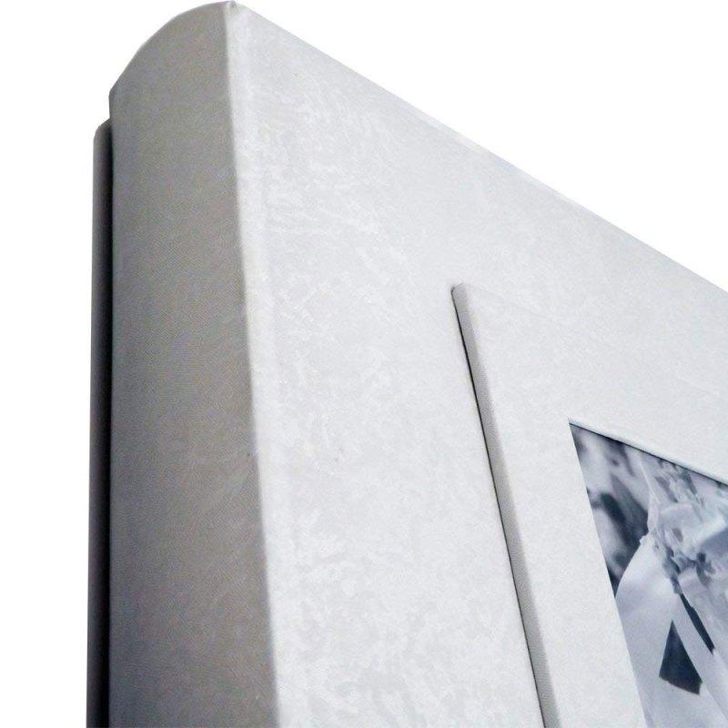 Wedding Album 4x6″ Floral Design (White)