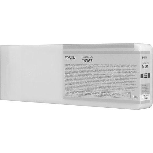 Epson T636700 UltraChrome HDR Light Black ink Cartridge (700 ml)