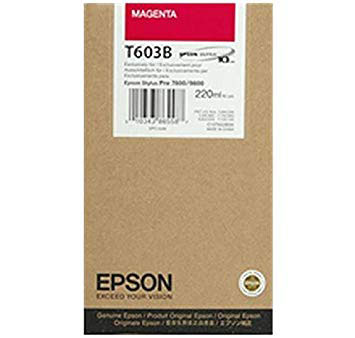 Epson T603B00 Magenta UltraChrome K3 Ink Cartridge (220 ml)