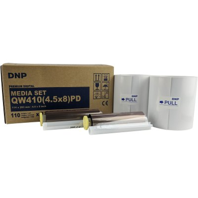 DNP DP-QW410 4.5x8″ PD Media Set (Total 220 Prints)