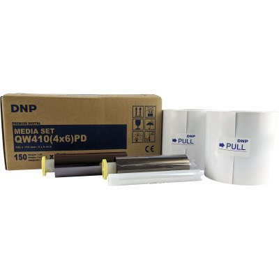 DNP DP-QW410 4x6″ PD Media Set (Total 300 Prints)