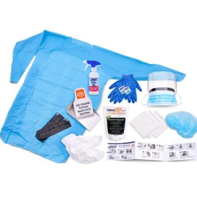 Purell Disinfectant Spray Kit, Body Fluid Spill Kit, Clam Shell Case Refill