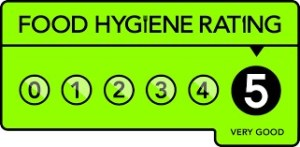 5 Star Food Hygine Rating