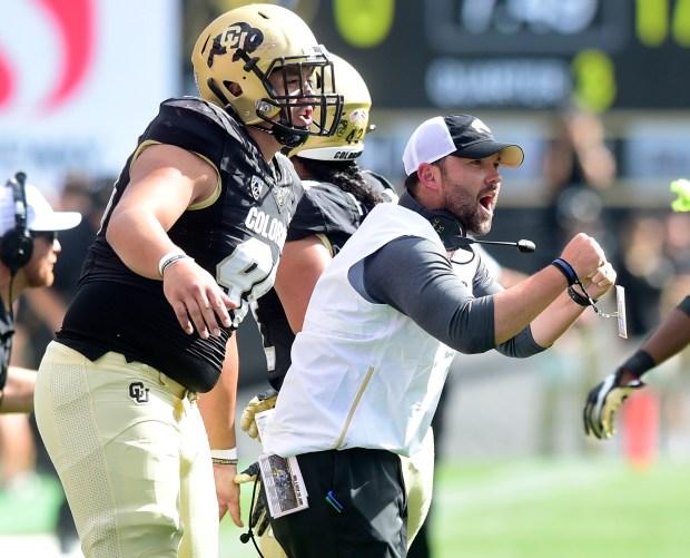 University of Colorado's defensive coordinator, Tyson ...