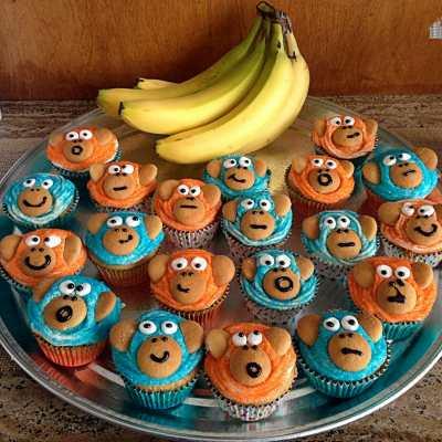 A Monkey 1st Birthday Party!