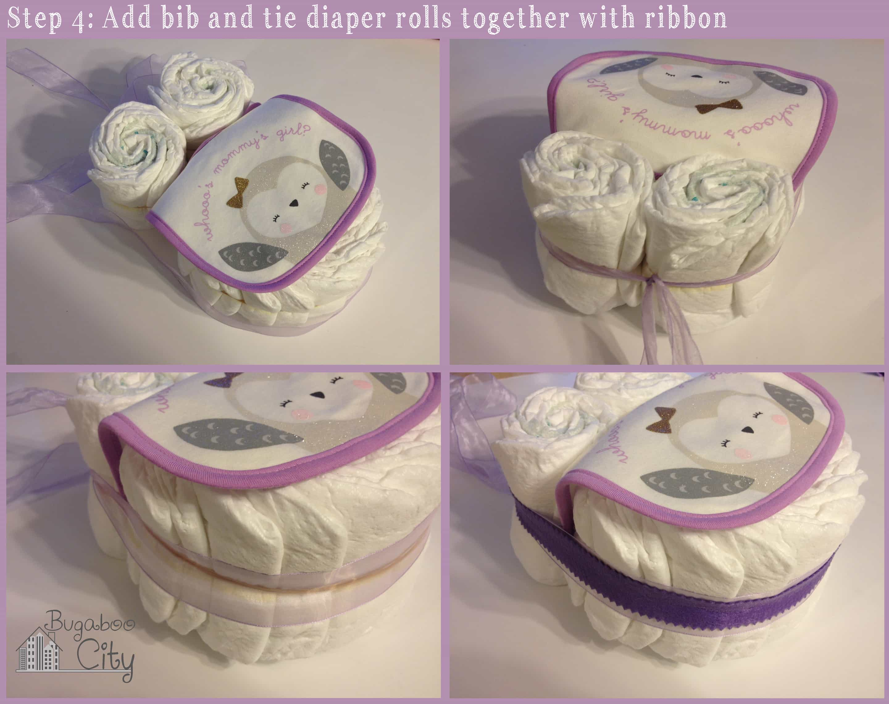 Diy Owl Diaper Cake Tutorial
