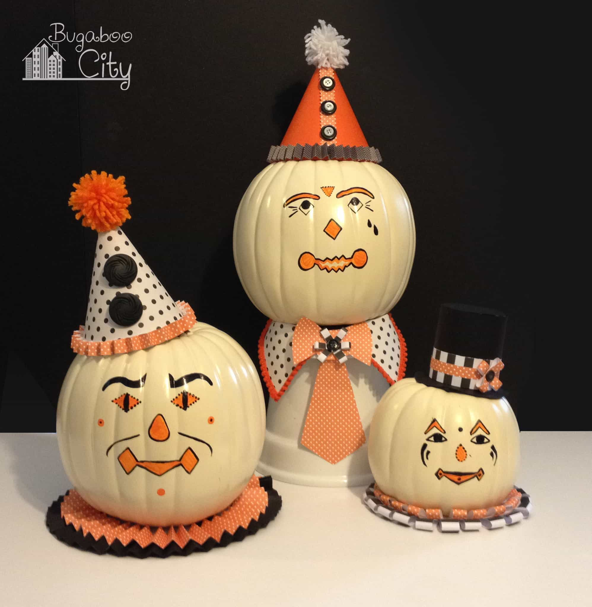 Vintage halloween paper decorations - For Some Reason Vintage Clowns Creep Me Out Way Less Than Modern Clowns Who Knows Why