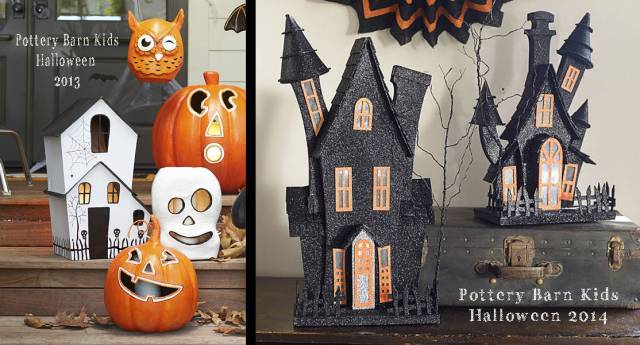 Haunted Houses from Pottery Barn Kids