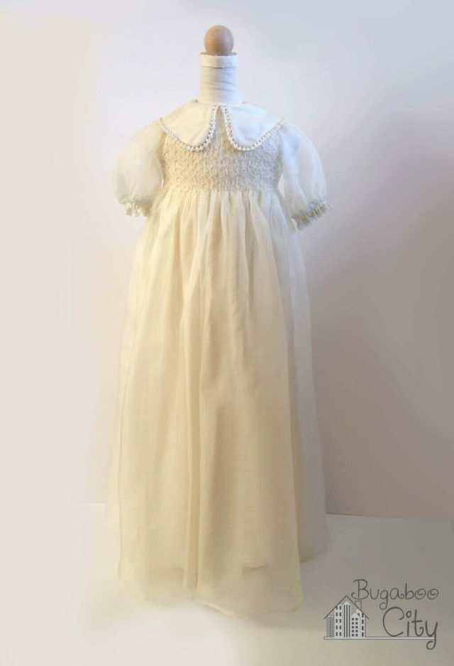 Vintage vogue baptism gown