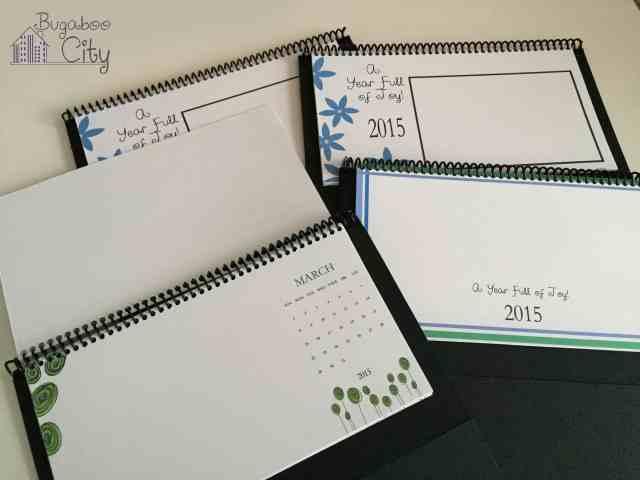 Homemade Desktop Calendar