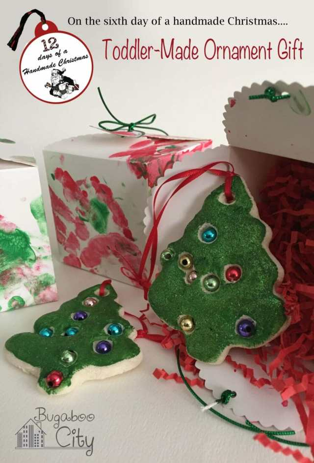 Toddler Ornament Gift and Gift Box