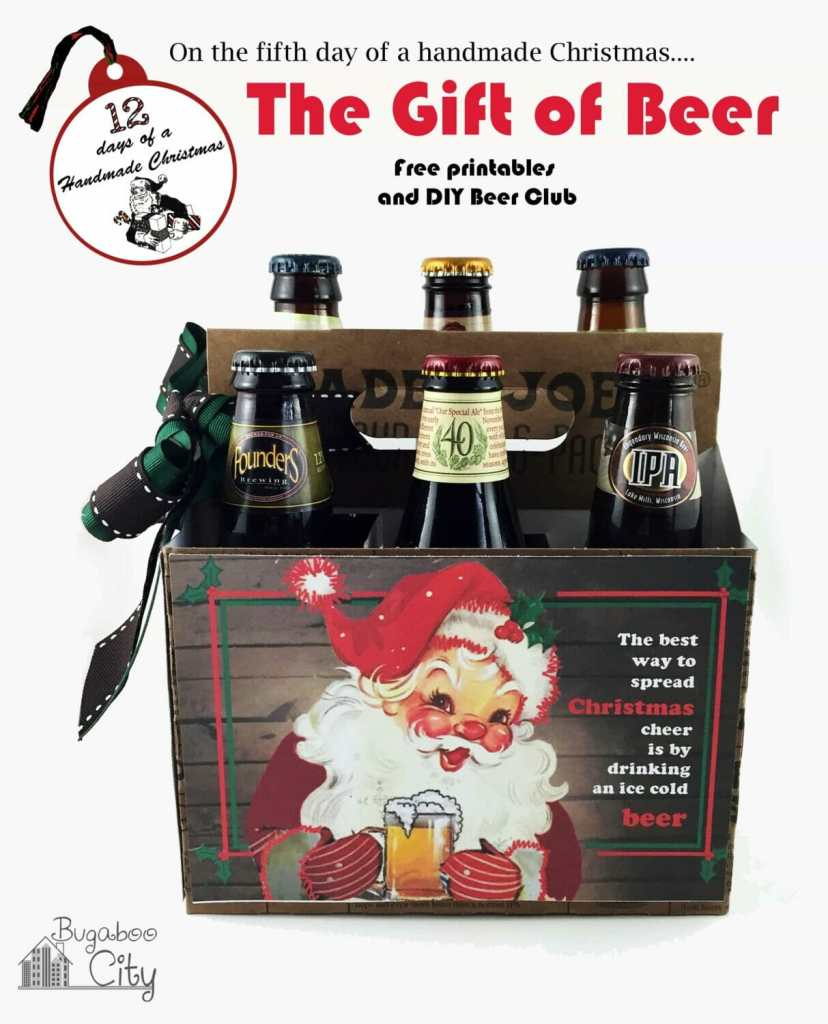 The Gift of Beer with free printable!
