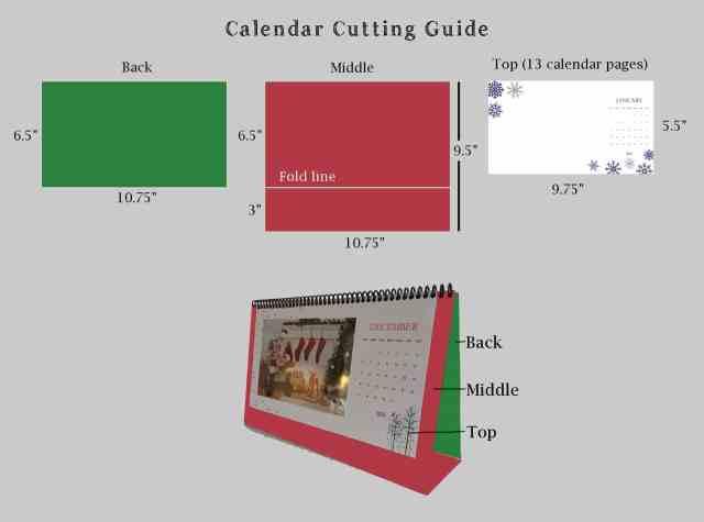 Calendar Cutting Guide