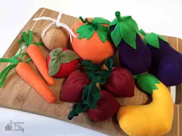 Felt Vegetables
