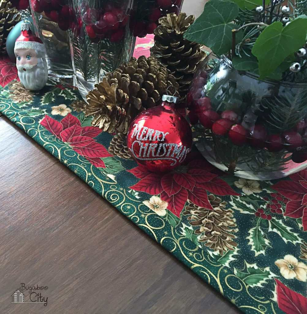 Holiday Table Runner Tutorial
