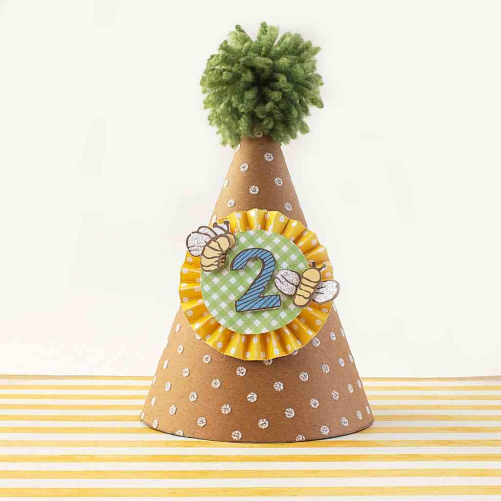 DIY Paper Party Hat Tutorial