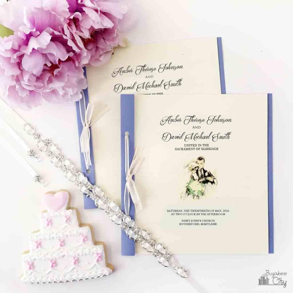 DIY Wedding Program BugabooCity 4