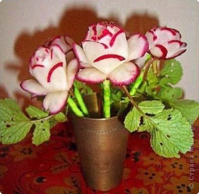 DIY-Flower-of-Radishes