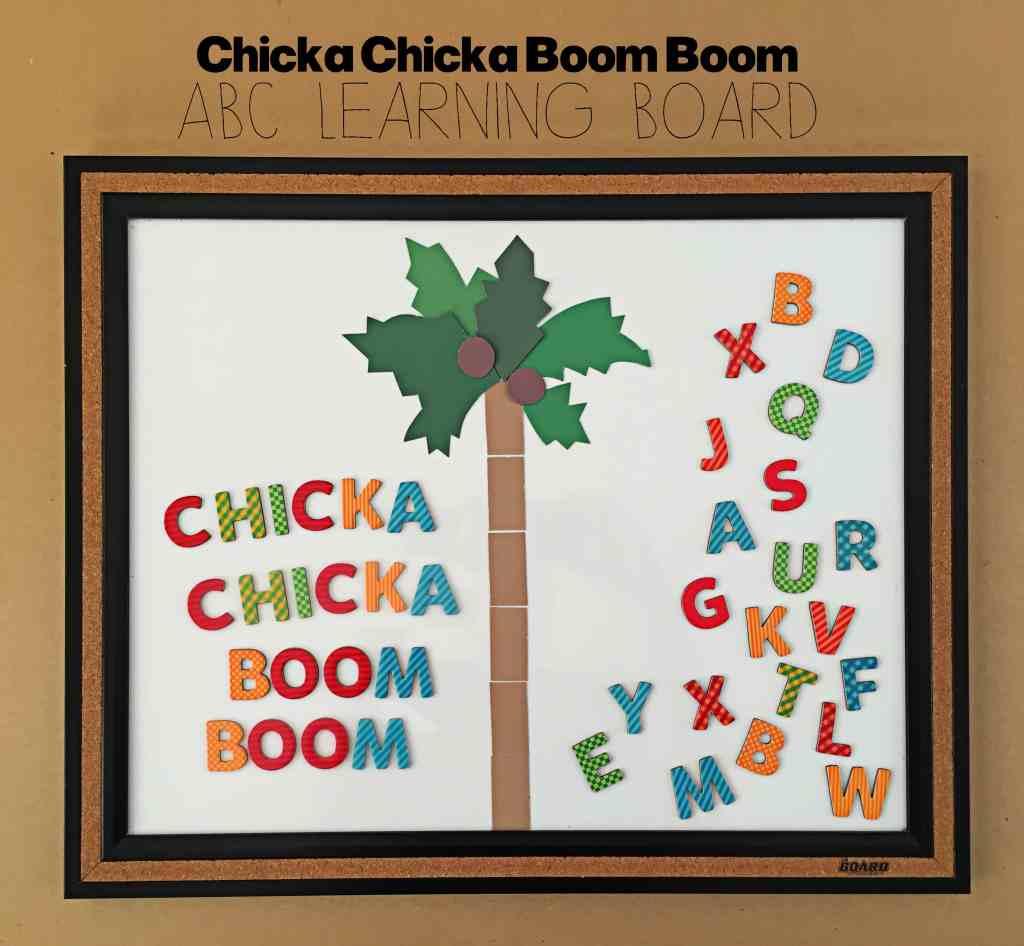 Chicka Chicka Boom Boom ABC Learning Board