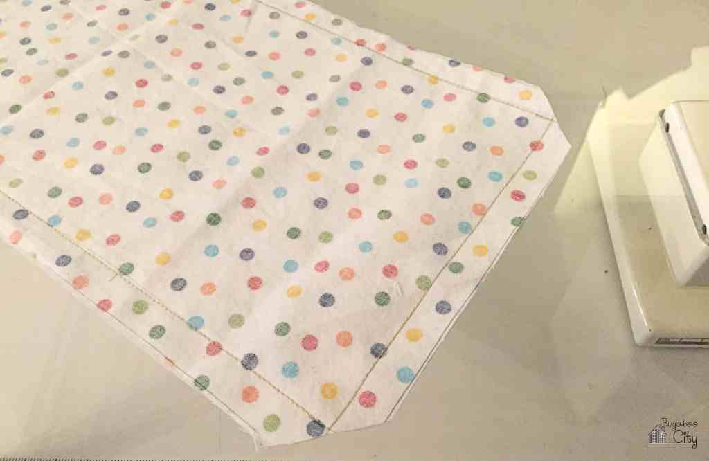 DIY Toddler Calendar Magnet Holder out of Fabric