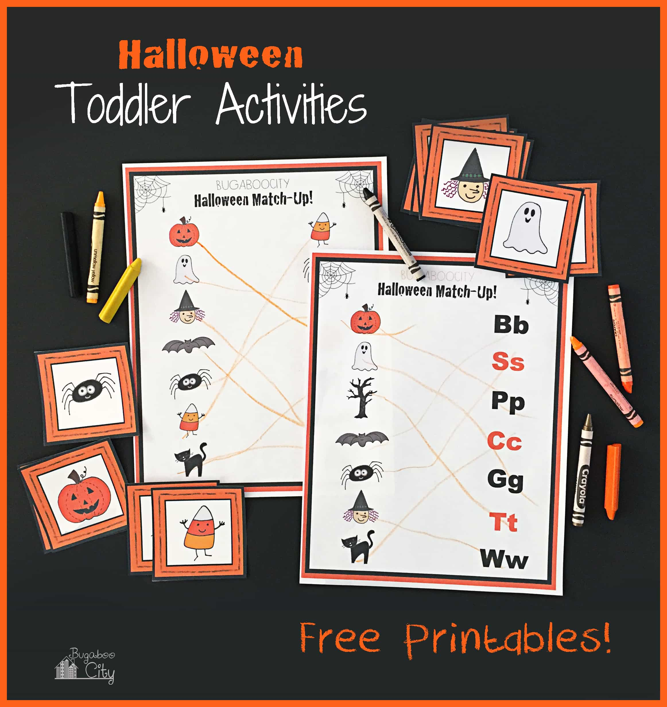 Kid S Halloween Activity Pages