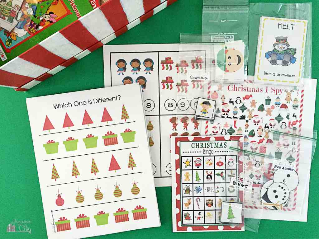Kid's Holiday Activity Gift Box 4