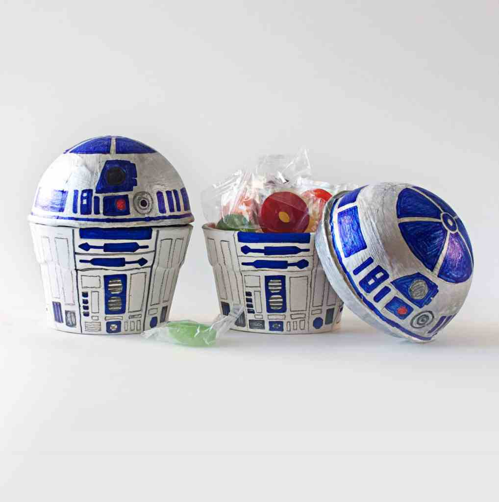 R2D2 Treat Boxes Star Wars Party Favors