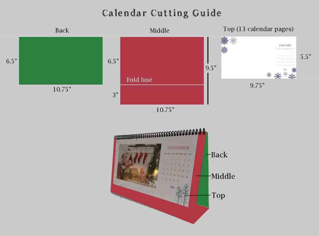 Calendar Cutting Guide