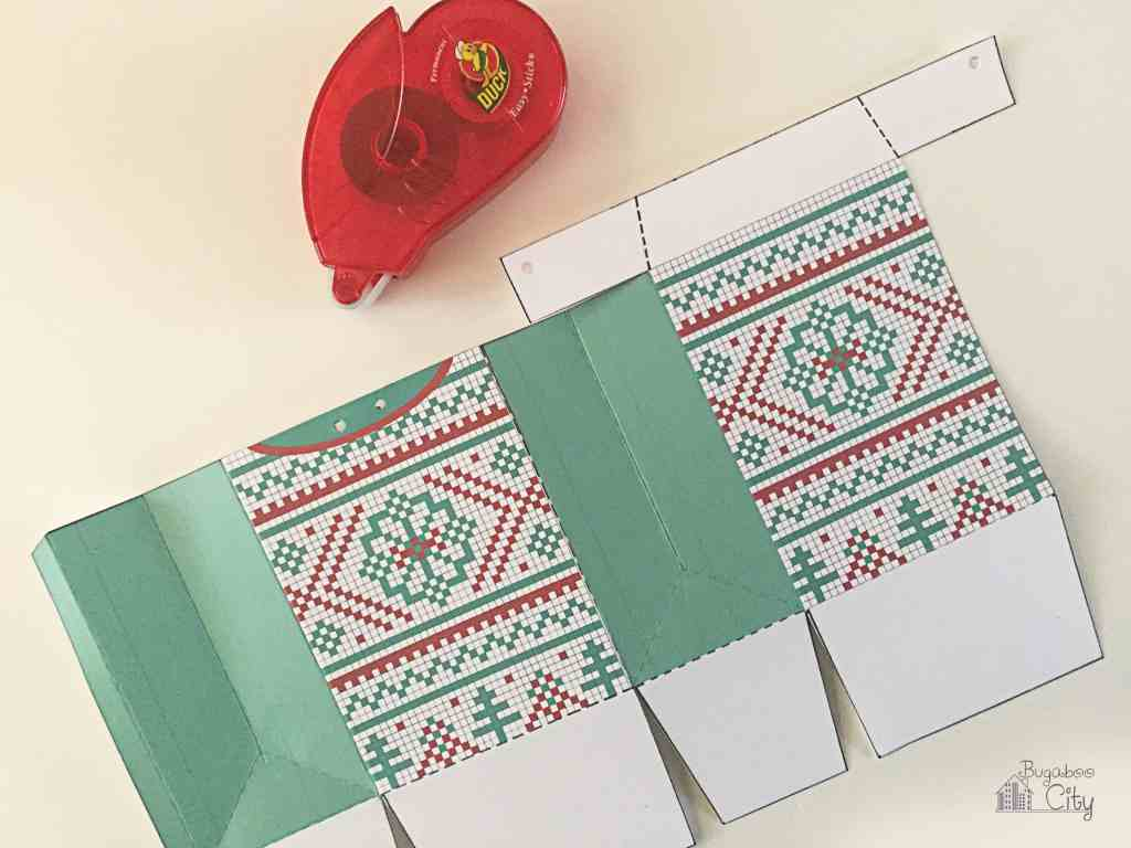 Christmas Sweater Gift Card Treat Bags