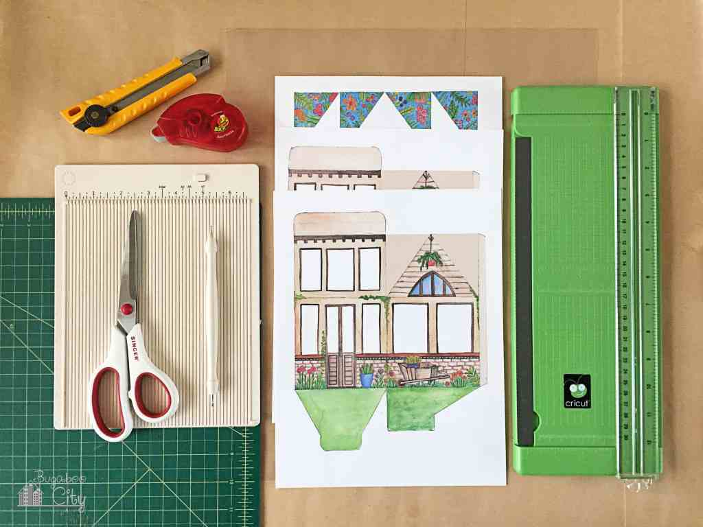 DIY Greehouse Gift Box with Free Printable