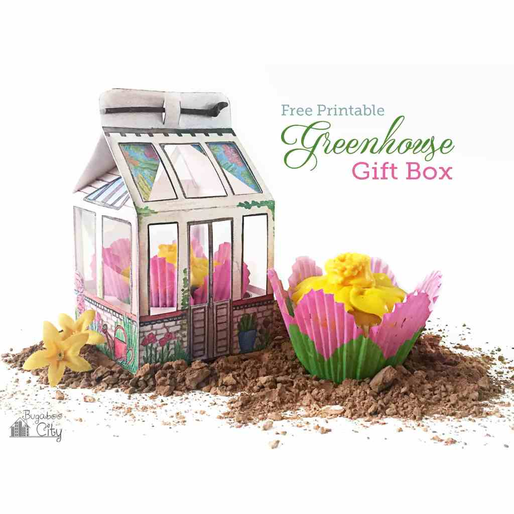 DIY Greenhouse Gift Box with Free Printable