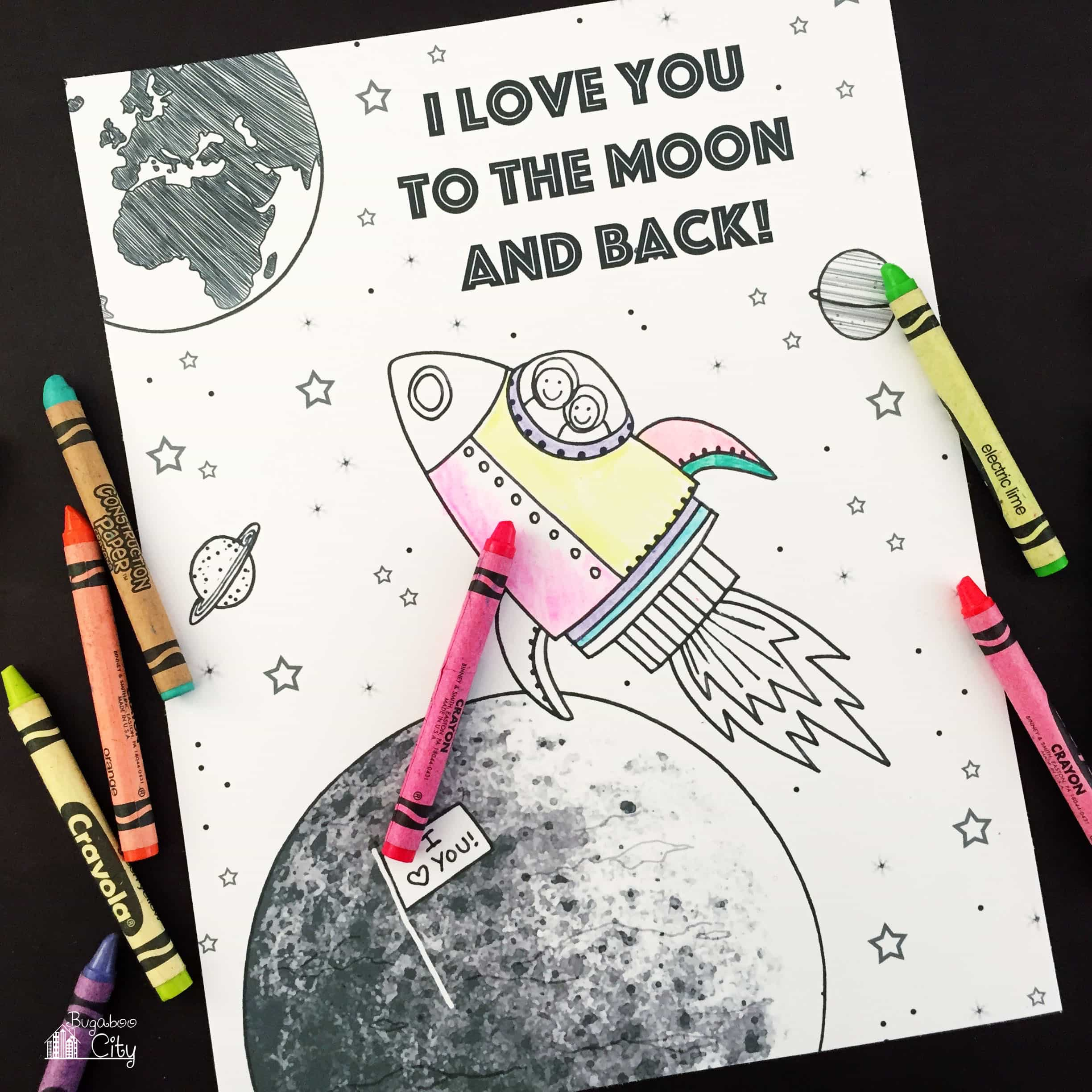 space coloring pages toddlers coloring pages