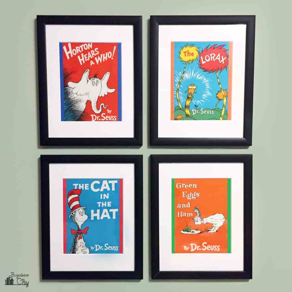DIY Dr. Seuss Photo Gallery